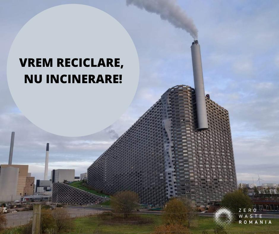 Incinerarea deșeurilor biodegradabile nu este reciclare
