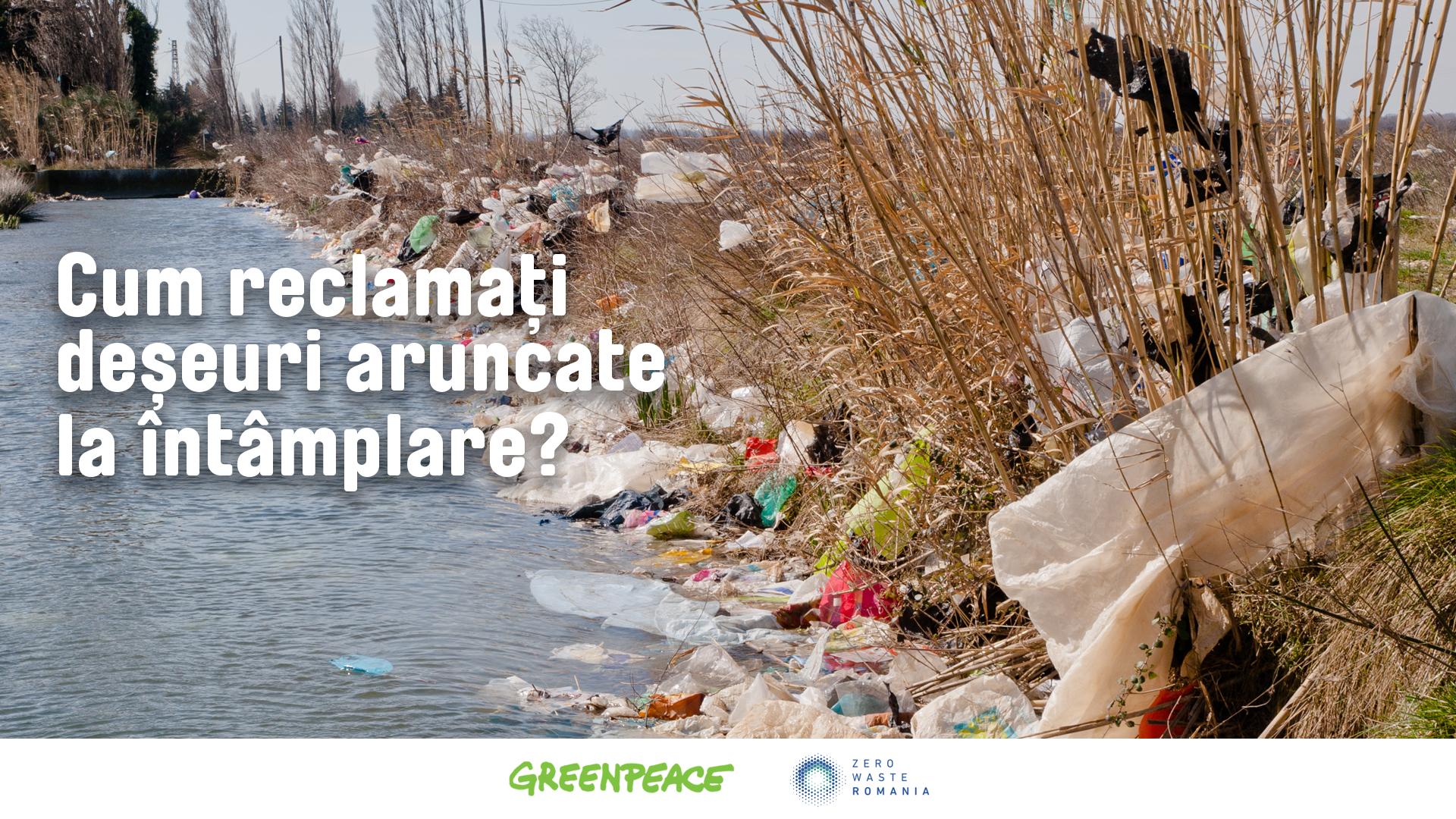 GHID | Cum reclamați deșeuri aruncate la întâmplare?